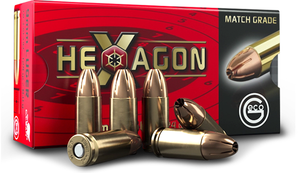 9mm Luger Ammunition by GECO